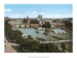 Vintage Paris Postcard - Vue Panoramique
