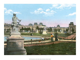 Vintage Paris Postcard - Jardin de Tuileries