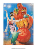 Chinese Happy New Year Circus Poster