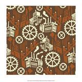 Soviet Constructivist Style  Factory Wheels & Clogs