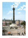 Vintage Paris Postcard - Bastille