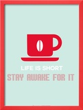 Coffee Poster Red