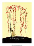 Vintage Art Deco Label  Giraud  Paris