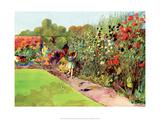 Vintage Classroom Poster - Flower Garden