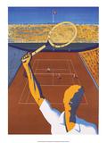 Vintage Tennis Poster