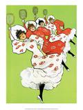 Vintage Tennis Poster  1900