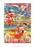 Chinese Circus Propaganda Poster