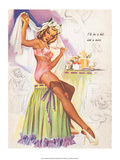 Retro Pin Up  Stockings & Wedding Veil