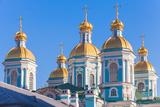 St Nicholas Naval Cathedral  Saint-Petersburg  Russia