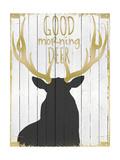 Good Morning Deer Giclée