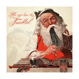 Santa His Eyes Twinkle