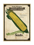 Vintage Corn Seed Packet