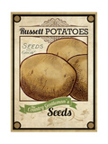 Vintage Potato Seed Packet