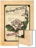 Vintage Rose Seed Packet