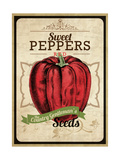Vintage Sweet Pepper Seed Packet