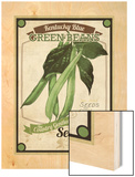 Vintage  Green Beans Seed Packet