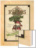 Vintage Radish Seed Packet