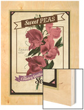 Vintage Sweet Peas Packet