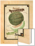 Vintage Sweet Melon Seed Packet
