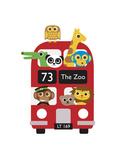 London Bus Zoo Reproduction d'art par Dicky Bird