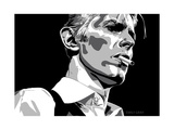 David Bowie - Thin White Duke Reproduction d'art par Emily Gray