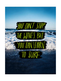 Learn to Surf Giclée par Leah Flores