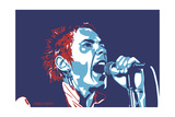 Johnny Rotten - God Save the Queen Reproduction d'art par Emily Gray