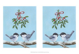 Chickadee Christmas I 2-Up