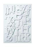 White Alphabet
