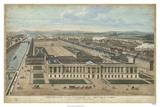 Bird's Eye View of Louvre