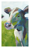 Painterly Cow III