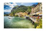 Lakeside Terrace Menaggio  Lake Como  Italy