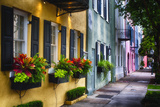 Rainbow Row II  Charleston South Carolina