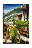 Bellagio Street View  Lake Como  Italy