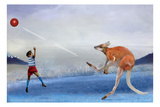 Kangaroo Kickball