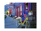 Yellow Bicycle in Silverton