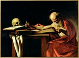 St Jerome Writing  circa 1604