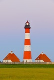 Westerhever Lighthouse  North Sea  Schleswig-Holstein  Westerheversand  Wadden Sea