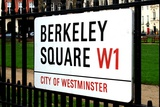 Berkeley Square  Mayfair  London  UK