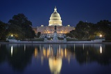 The US Capitol and Reflecting Pool