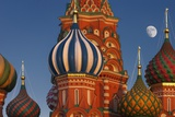 Moon Rise over St Basil's Cathedral
