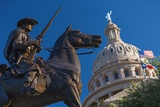 The Texas State Capitol Building in Austin  Texas
