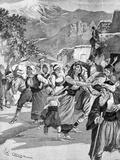 Refugees Flee War in Armenia 1897
