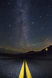Death Valley Highway at Night
