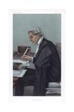 'A Radical Lawyer'  1902 Artist: Spy