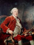 Portrait of Charles-Amedee-Philippe Van Loo