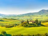Beautiful Landscape in Tuscany  Italy