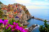 Cinque Terre, Italy Papier Photo par Jeni Foto