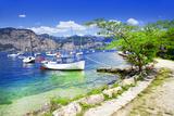 Scenery of Lago Di Garda- Beautiful Lake in Northen Italy