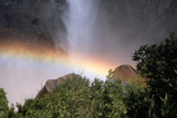 Rainbow in Mist of Waterfall